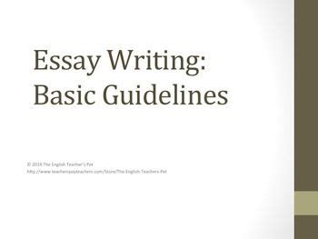 How to write an essay at masters level 6